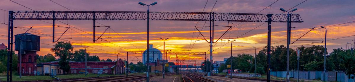 Strona internetowa poświęcona stacją kolejowych